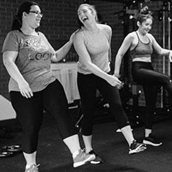 Team Bonding during exercise